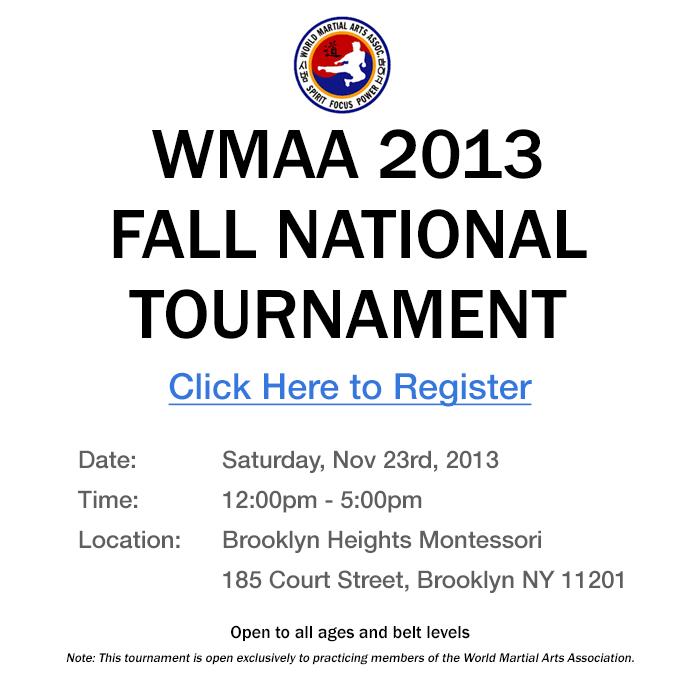 2013 Fall National Tournament
